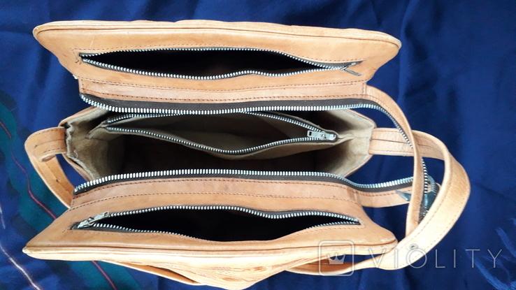 Вінтажна сумка з тисненням, фото №10