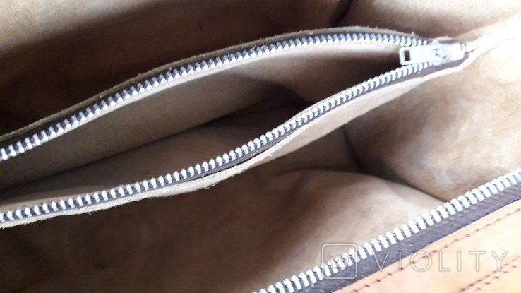 Вінтажна сумка з тисненням, фото №11