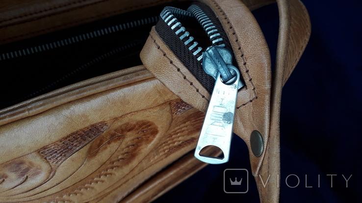 Вінтажна сумка з тисненням, фото №12