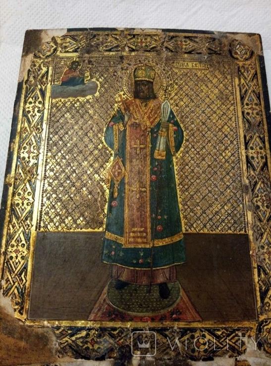 Икона Св. Иоасаф  Белгородский, фото №3