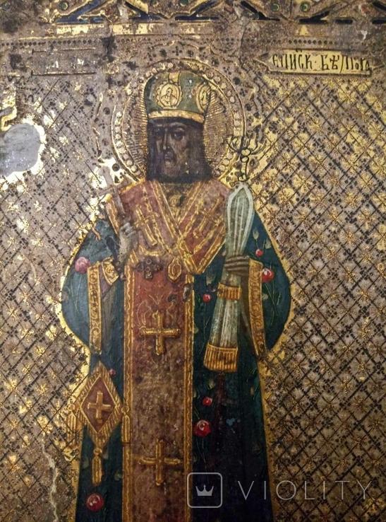 Икона Св. Иоасаф  Белгородский, фото №2