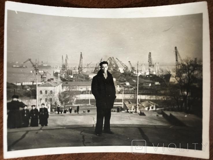 1958 Одесса Строительство порта Порт, фото №2