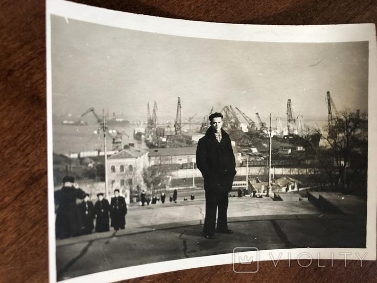 1958 Одесса Строительство порта Порт, фото №5