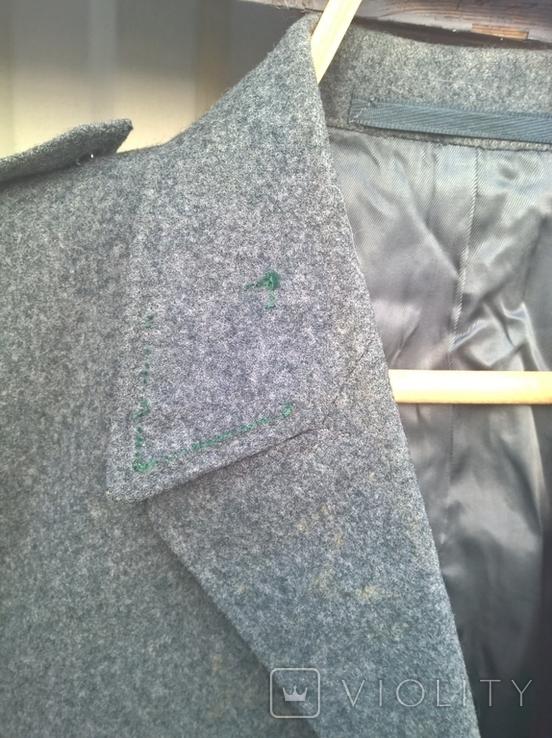 Китель - мундир - пиджак Швейцария армейский , шерсть - сукно,48 размер,1986г/в., фото №5