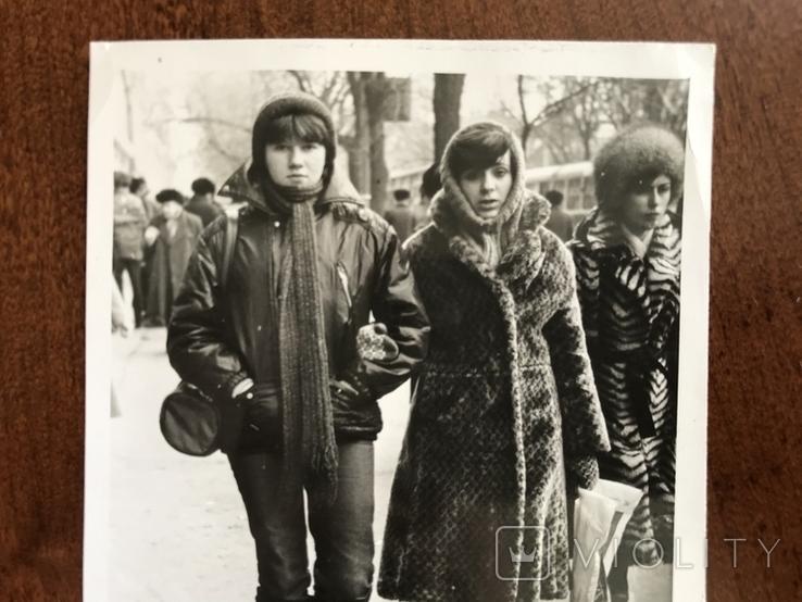 1985 Одесса Зима Мода, фото №6