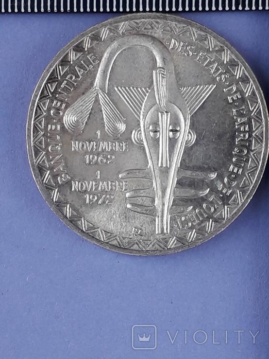 500 франков Западная Африка (BCEAO), 1972 г., серебро 0.900 25 грамм, фото №3