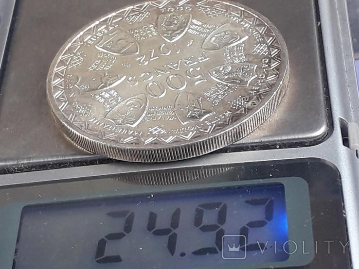 500 франков Западная Африка (BCEAO), 1972 г., серебро 0.900 25 грамм, фото №4