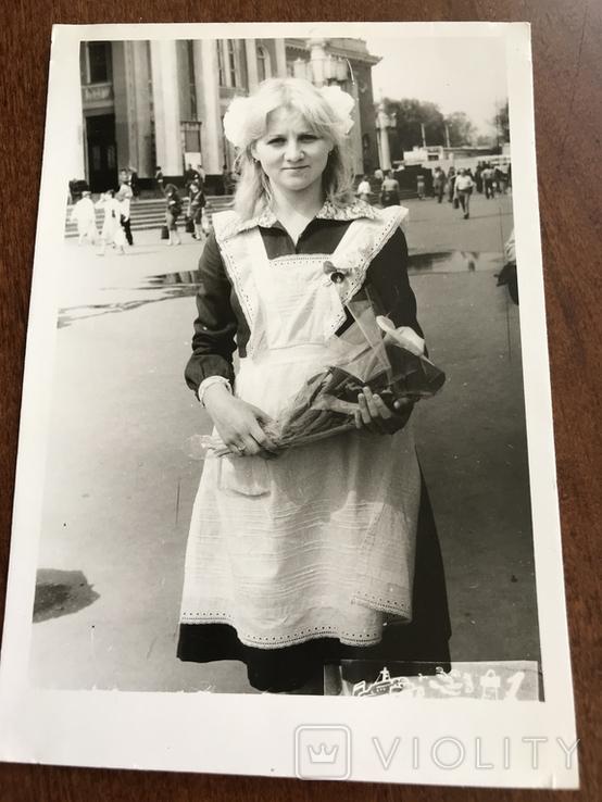 1985 Одесса Школьница Вокзал, фото №3