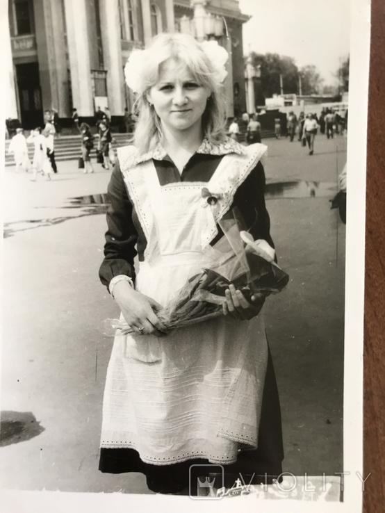1985 Одесса Школьница Вокзал, фото №6
