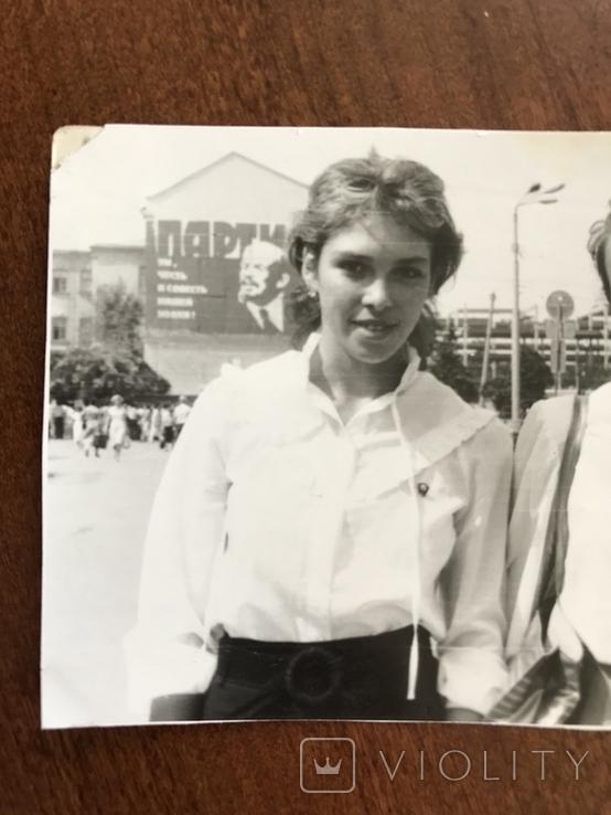 1987 Одесса Комсомолки Студентки Привокзальная площадь Реклама, фото №3