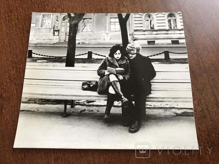 Одесса На бульваре с книгой, фото №3
