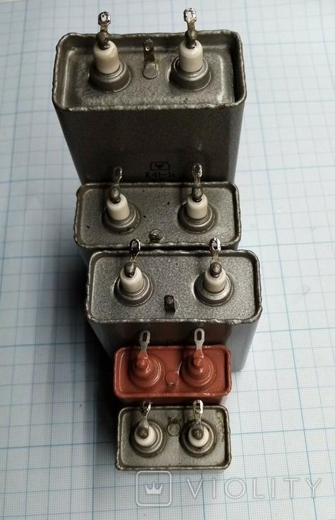 №531 Конденсаторы 2,5 - 5кВ., фото №3