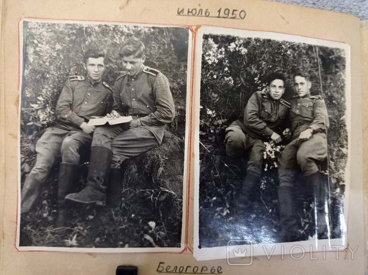 """Фотоальбом """"В дни учебы в ХАУ"""" 1948-1951 г., фото №10"""