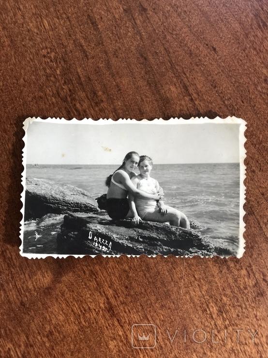 1949 Одесса Берег На камнях, фото №3