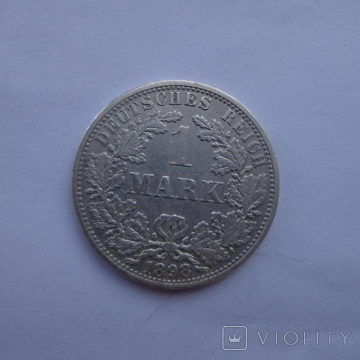 1 марка 1898 А, фото №2