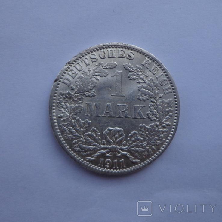 1 марка 1911 А, фото №2