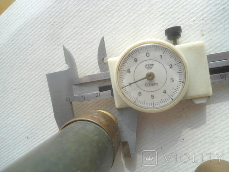 Пенал для инструмента латунь,стеатит СССР, фото №11