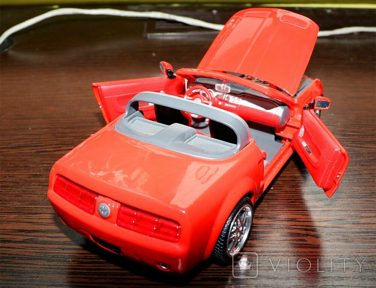 Масштабная модель Ford Mustang GT concept 1/24, фото №3