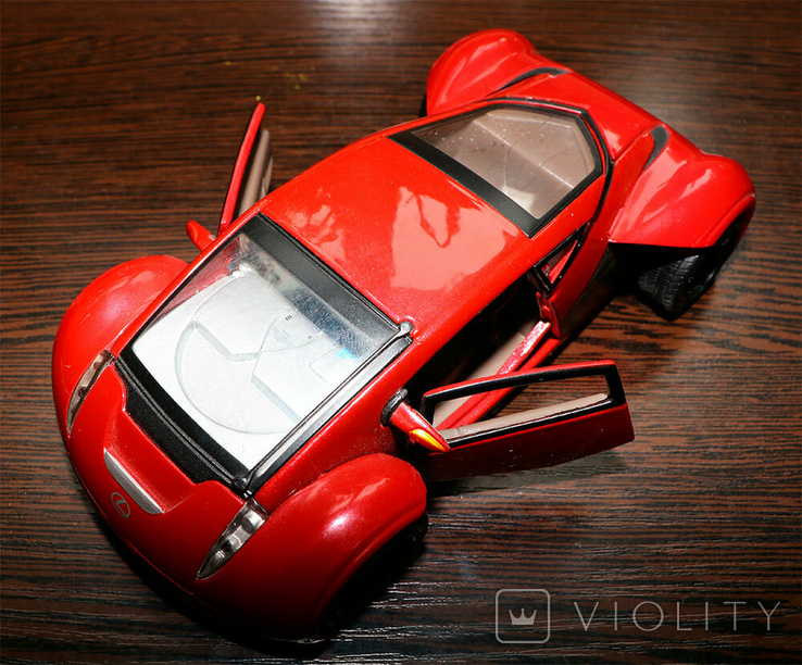 Масштабная модель Lexus Futuristic Concept Car Maisto 1/24, фото №5