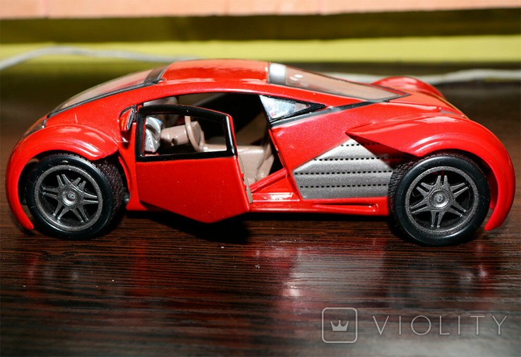 Масштабная модель Lexus Futuristic Concept Car Maisto 1/24, фото №6