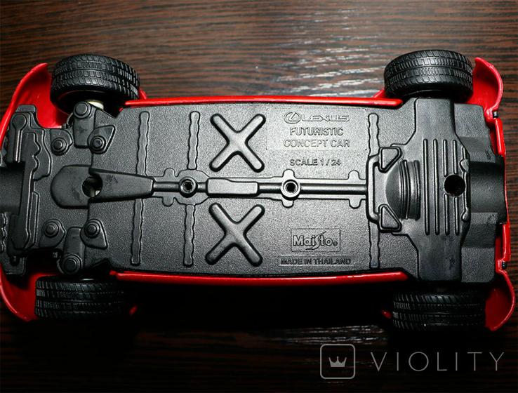 Масштабная модель Lexus Futuristic Concept Car Maisto 1/24, фото №7