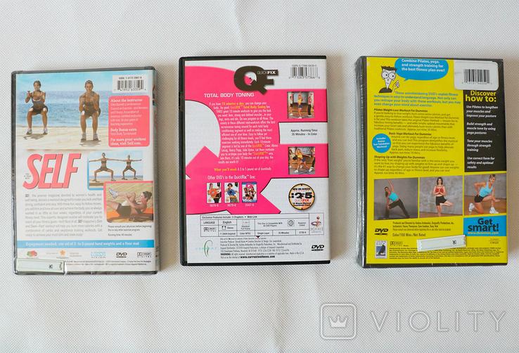 DvD для фитнеса (новые в упаковке), фото №3