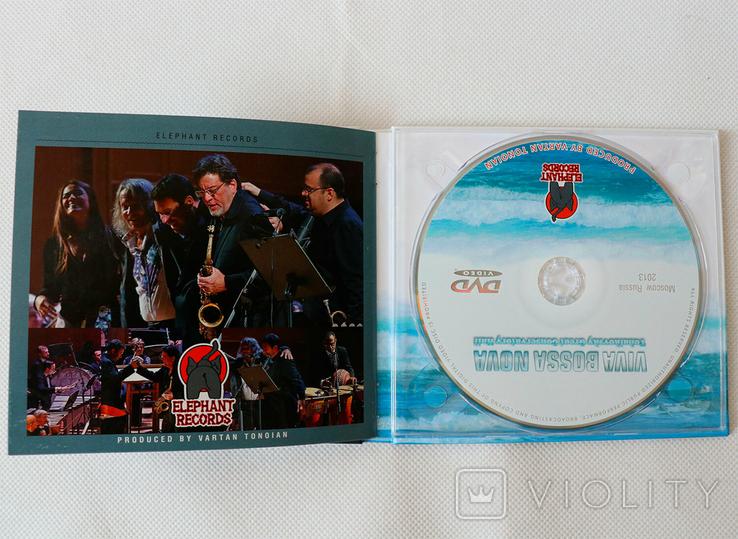 Viva Bossa Nova festival 2013 cd dvd, фото №4