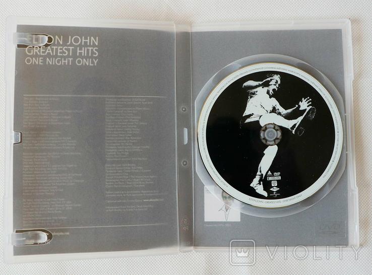Elton John Greats Hits Live at Madisson Square Garden DVD, фото №3