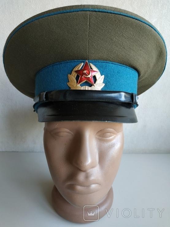 Фуражка военнослужащего ВВС СССР 1980 г., фото №2