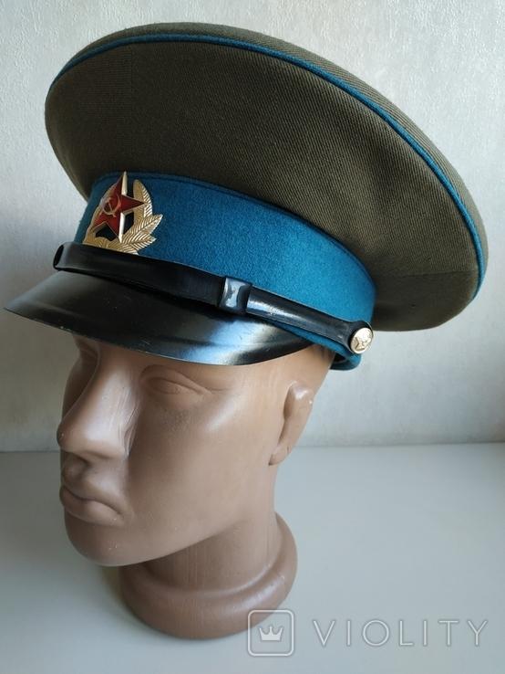 Фуражка военнослужащего ВВС СССР 1980 г., фото №3