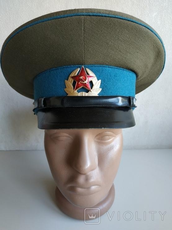 Фуражка военнослужащего ВВС СССР 1980 г., фото №7
