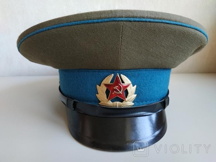 Фуражка военнослужащего ВВС СССР 1980 г., фото №8