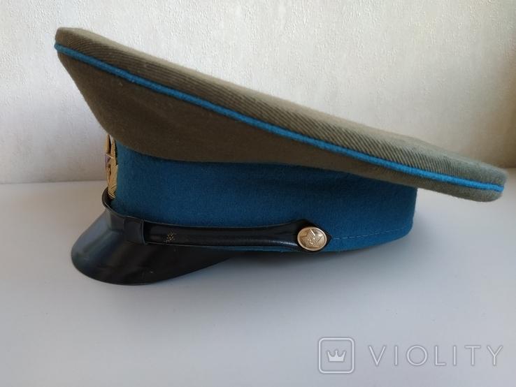 Фуражка военнослужащего ВВС СССР 1980 г., фото №9