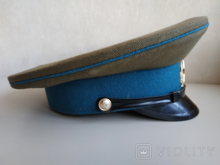 Фуражка военнослужащего ВВС СССР 1980 г., фото №10