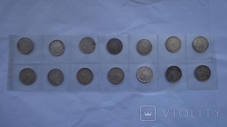 1/2 марки погодовка 14 монет, фото №3