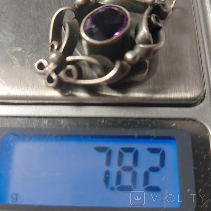 Кулон,серебро, фото №7