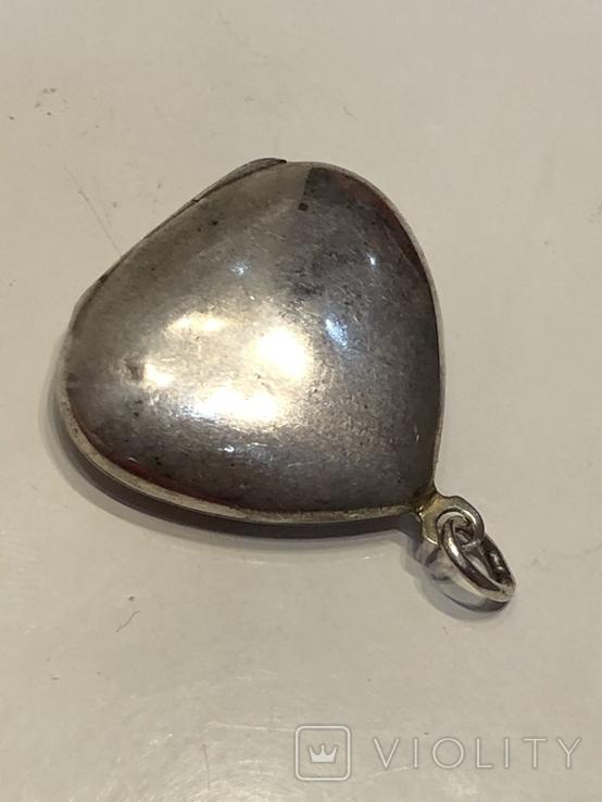 Кулон серебряный ссср, фото №10