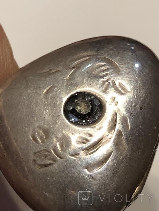 Кулон серебряный ссср, фото №12