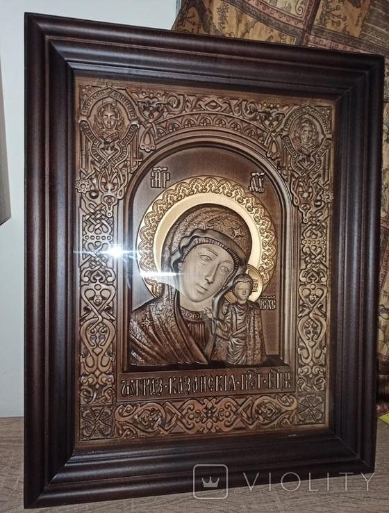 Икона Казанской Божьей Матери, фото №3