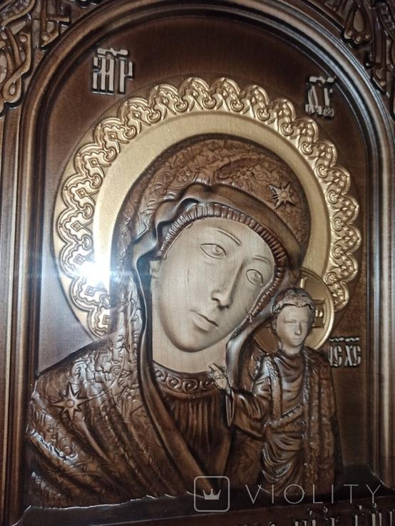 Икона Казанской Божьей Матери, фото №6