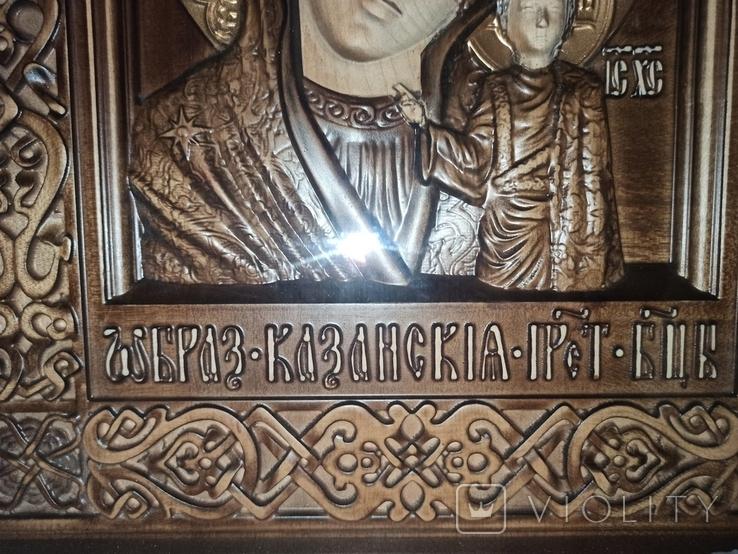 Икона Казанской Божьей Матери, фото №10