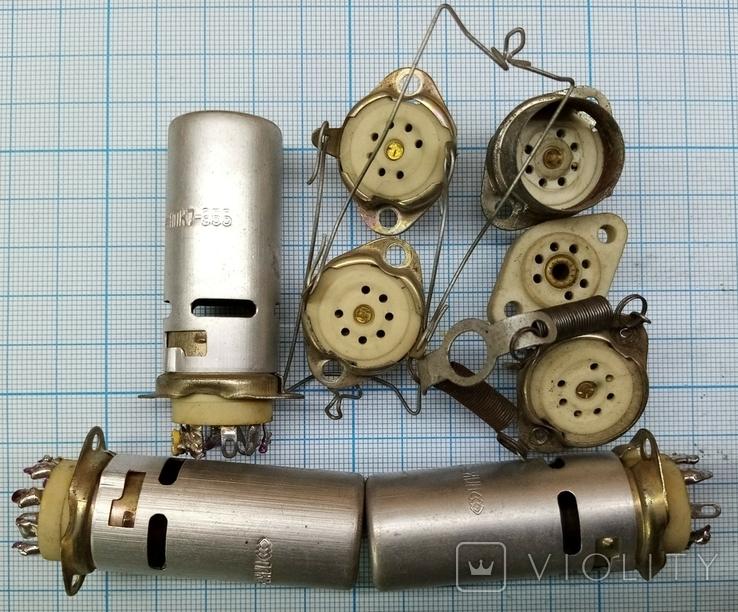 №534 Ламповые панельки керамические 30шт., фото №4