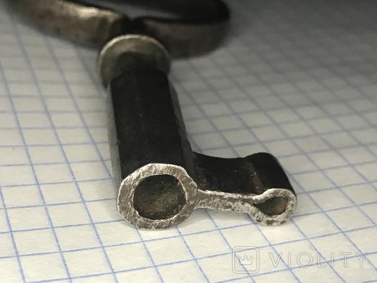 Старинный кованый ключ, фото №5