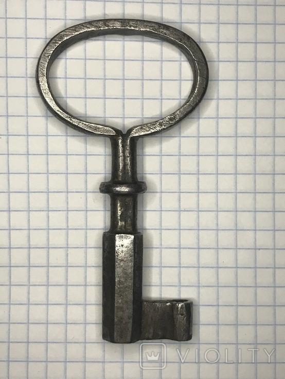 Старинный кованый ключ, фото №7