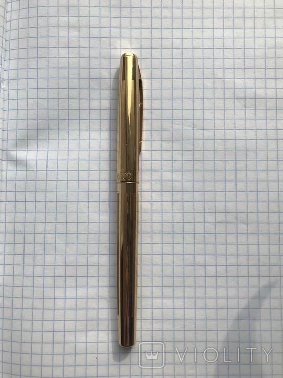 Перьевая ручка делегата, с золотым пером 26 съезд КПСС, фото №2