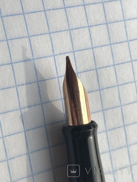 Перьевая ручка делегата, с золотым пером 26 съезд КПСС, фото №8