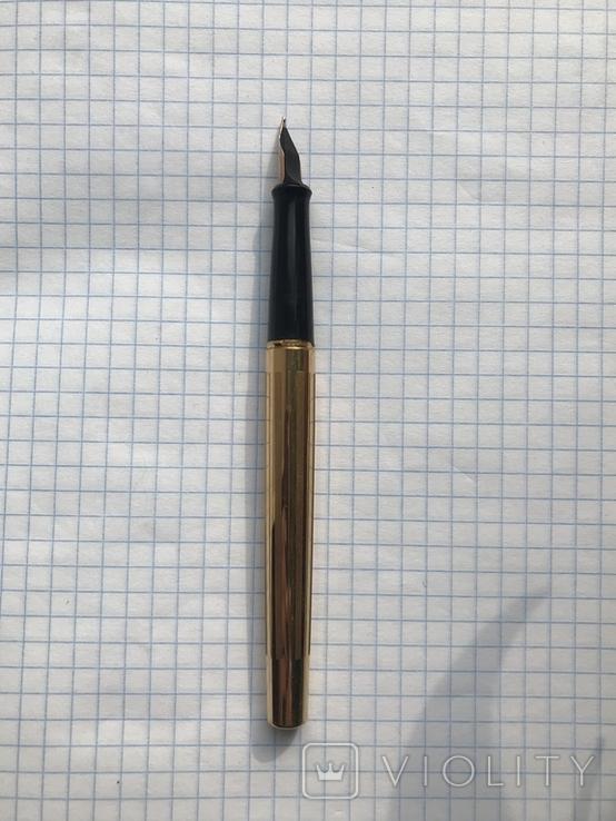 Перьевая ручка делегата, с золотым пером 26 съезд КПСС, фото №9