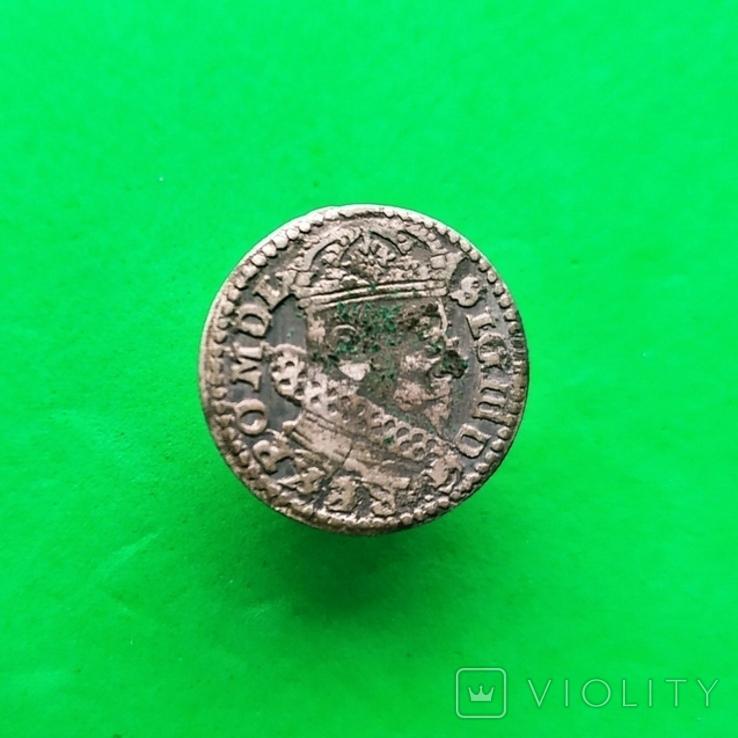 Литовский грош 1626 года (R4), фото №2
