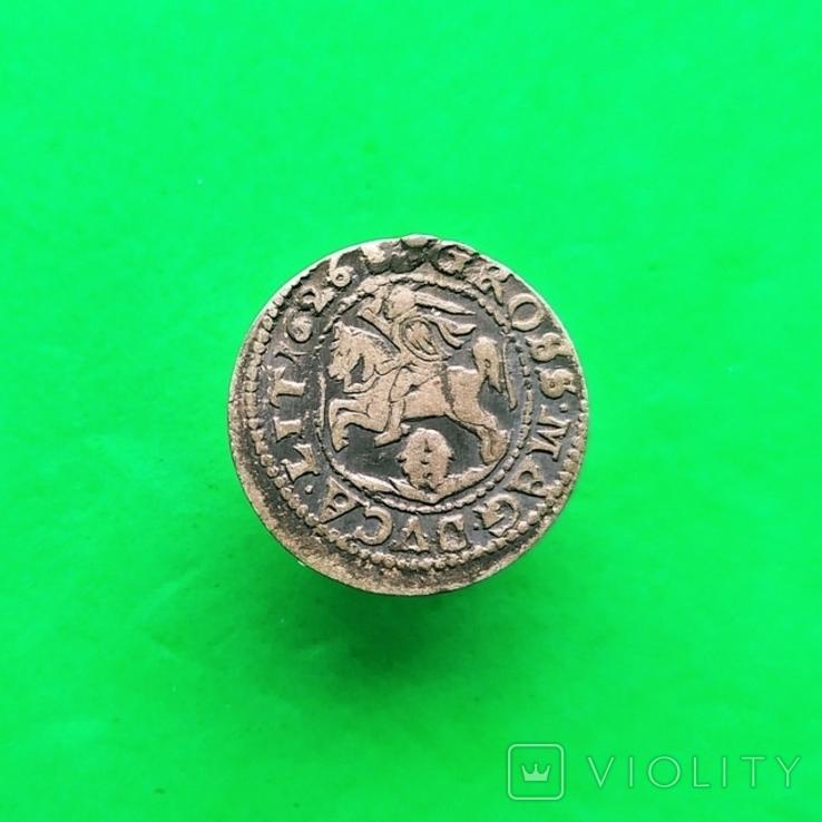 Литовский грош 1626 года (R4), фото №5