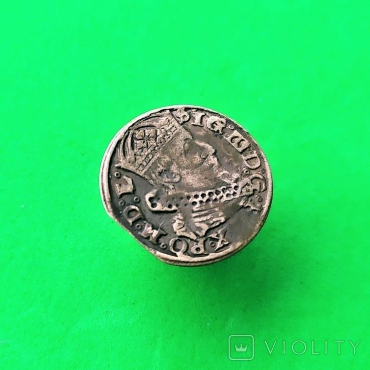 Литовский грош 1626 года (R4), фото №4